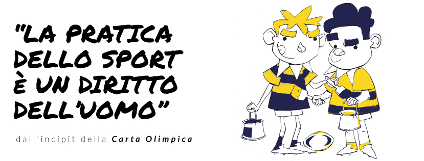 Insieme alla Meta - Reno Rugby - Carta Olimpica